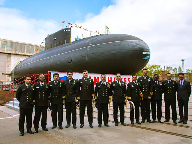 INS Sindhukesari Rolled Out After a Second Refit at Severodvinsk, Russia