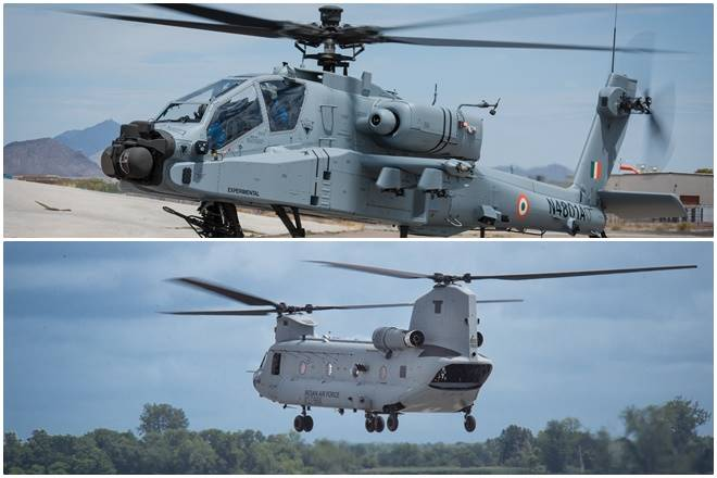 Boost for Defence! India's First Apache, Chinook Helicopters for IAF Complete Inaugural Flights