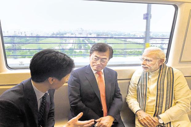 South Korea to Lift India Ties on Par With China, US, Japan