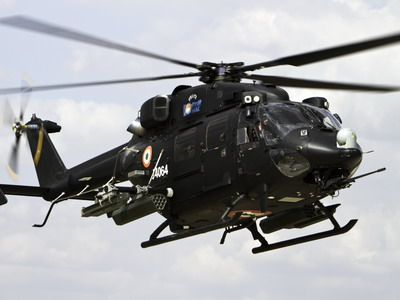 Saab Receives Another Self-Protection System Order for Dhruv Helicopters