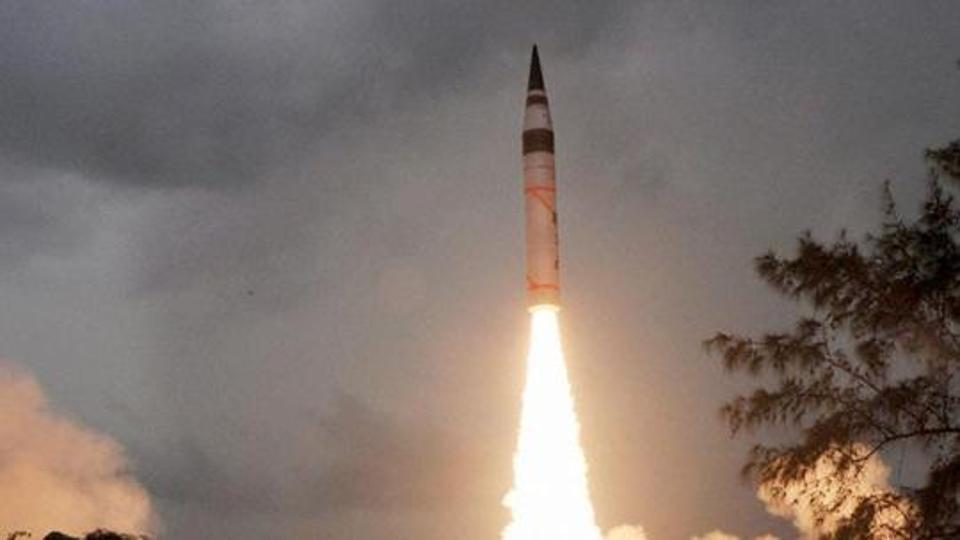Agni-V Set to be Inducted by December After One more Test