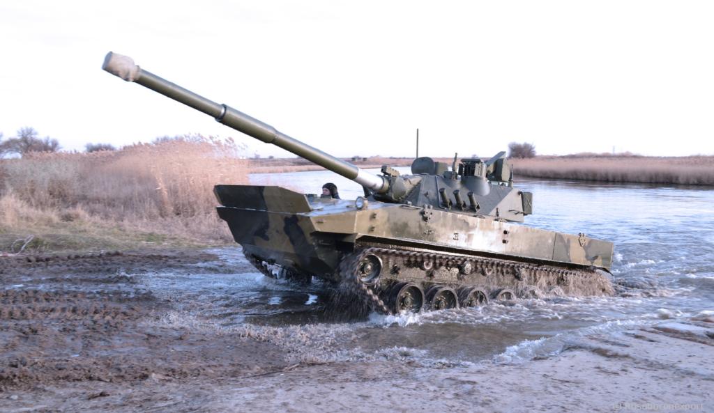 Rosoboronexport Launches Sput-SDM1 Light Amphibious Tank