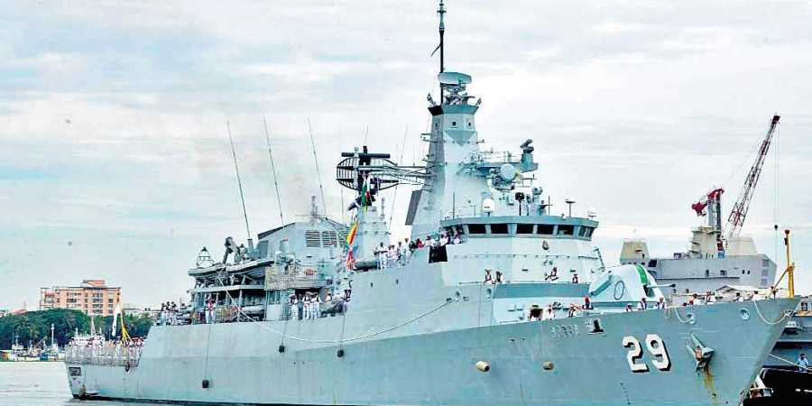 Indian Navy Offers Operational Sea Training to Malaysian Navy Ship in Kochi