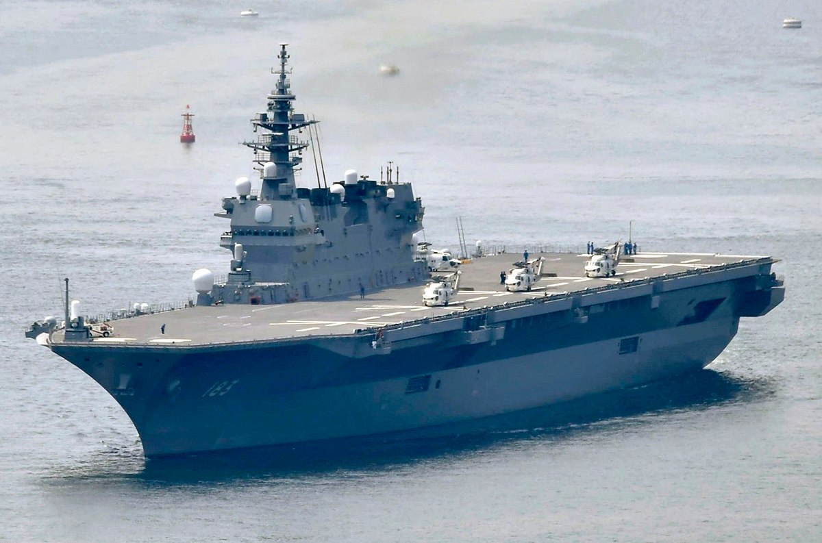 Japan to Spend More on Defense, Refit First Aircraft Carrier for US-Made F-35B Stealth ets