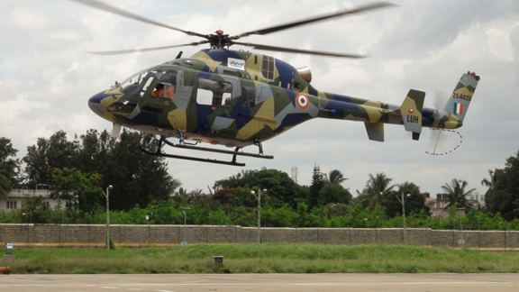 HAL Test Flies Light Copter up to 6km Altitude