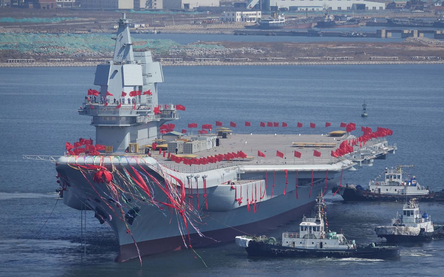How China Could Become a Naval Superpower: 6 Aircraft Carriers