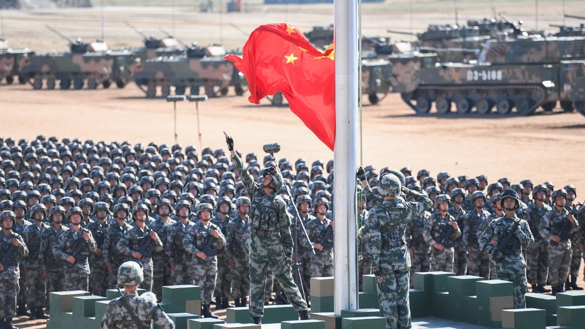 China's First Steps before Going to Battle