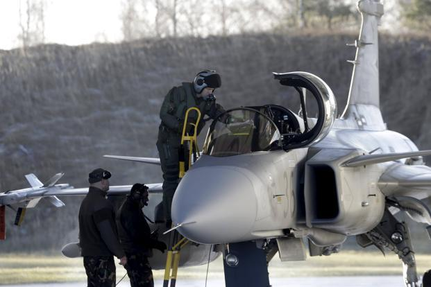 Saab Looks to Make in India its Gripen Fighter Jets