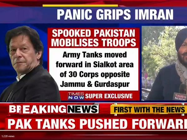 In a Knee-Jerk Reaction to IAF Attack on Balakot, Pakistan Begins Heavy Military Build-Up Along LoC, Border