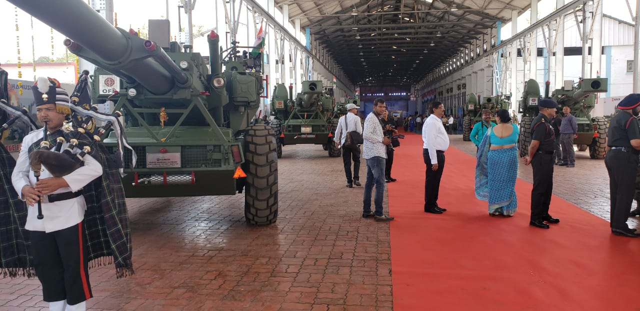 OFB's Dhanush Handed Over to Indian Army