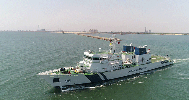 50th Warship Delivered by L&T Commissioned
