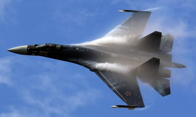 Su-35 Fighters Delivered to China