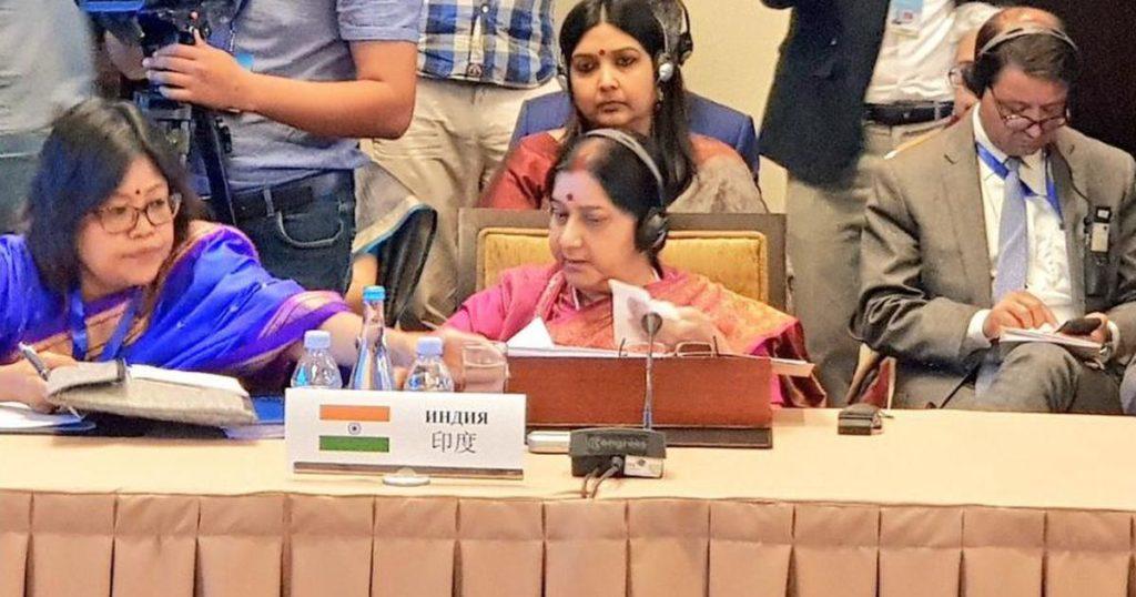 Pulwama Attack, Sri Lanka Blasts Made India Determined to Fight Terrorism, Says Sushma Swaraj