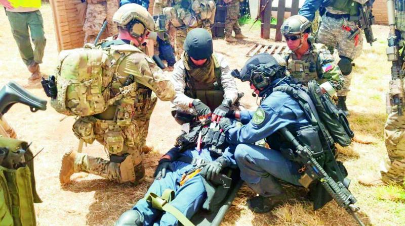 Special Forces to Hit key Enemy Infra During War