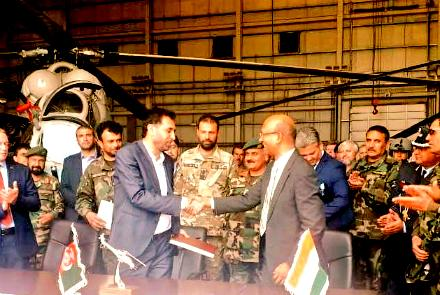 India Delivers Pair of MI-24 Helicopters to Afghan Forces