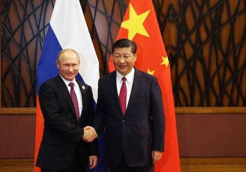 Report: China, Russia Deepening Defense Partnership