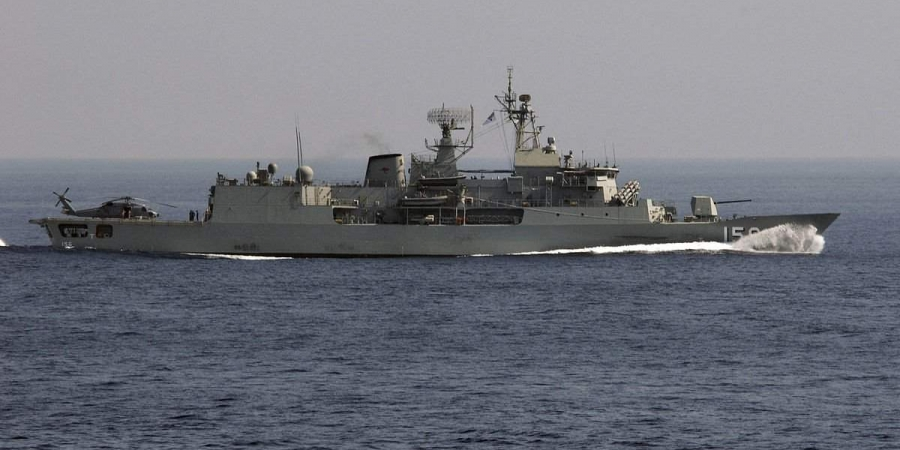 Australian Warship HMAS Toowoomba on Visit to Chennai to Boost Ties