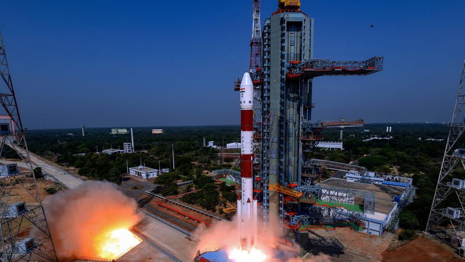 India Puts into Orbit Radar Imaging Satellite RISAT-2B
