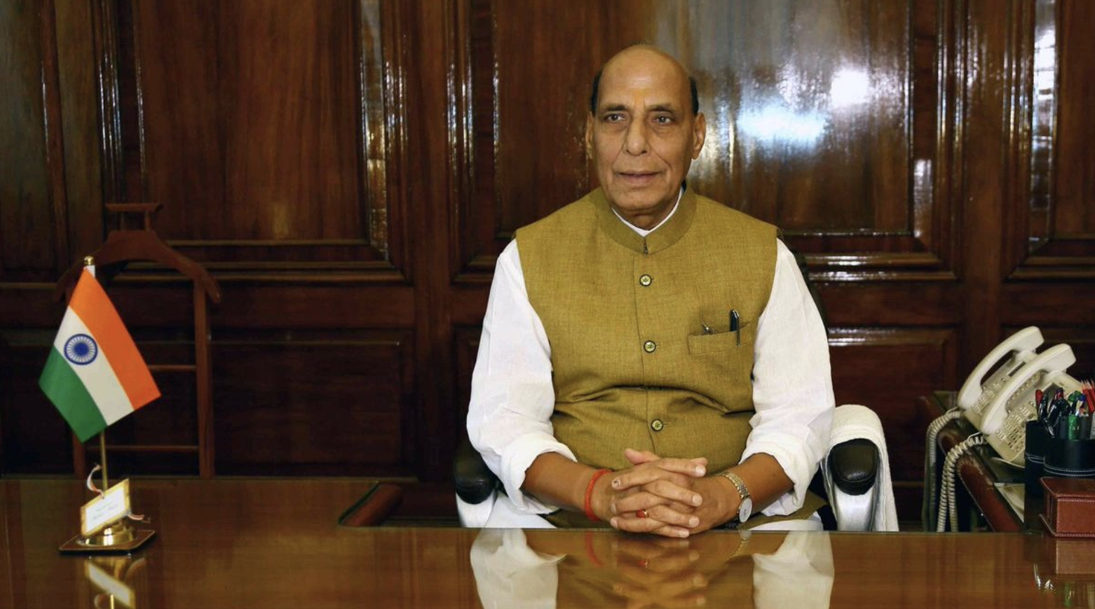 Give Me a Report on India's Security Challenges, Rajnath to Army, Navy, Air Force Chiefs