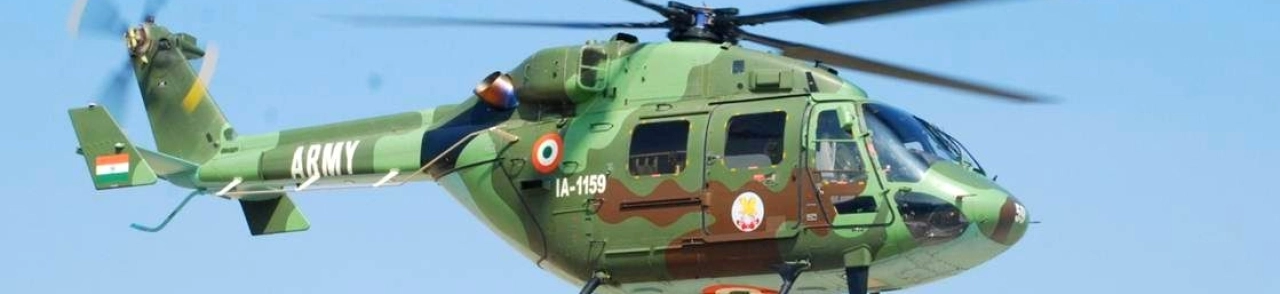 Hindustan Aeronautics Seeks Private Help to Boost Manufacturing of Dhruv Helicopters