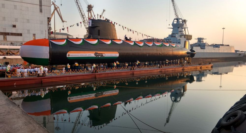 Indian Defense Ministry Seeks Shipyards Willing to Build Six New Submarines