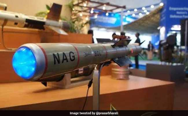 India Test Fires 3 Tank-Buster Nag Missiles, All Hit Their Targets