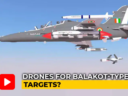 Swarms of Indian Drones Being Designed to Take Out Targets Like Balakot