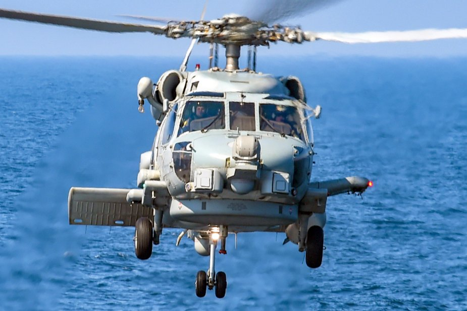 India to Buy 24 MH-60R Seahawk Naval Helicopters Late in 2019