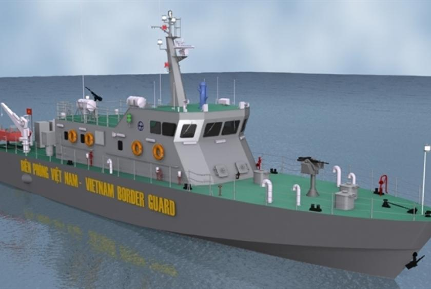 Indian Shipyard to Build Patrol Ships for Vietnam's Border Guard