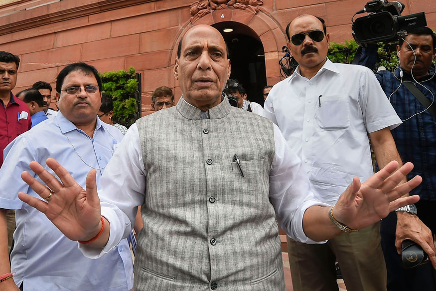 Union Minister Rajnath Singh Calls for 'Iron Hand' on Terrorism, Bats for Modernisation of Armed Forces