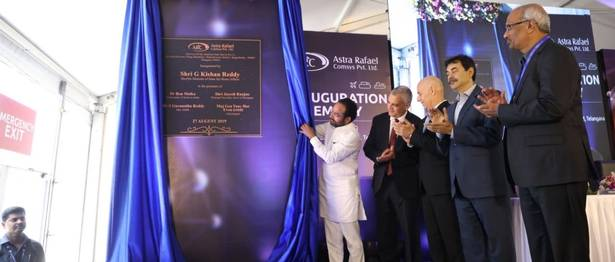 Rafael Expands in India, Opens New Facility with Astra Microwave
