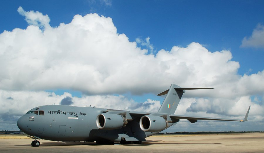 11th Boeing C-17 Globemaster III on its Way to India
