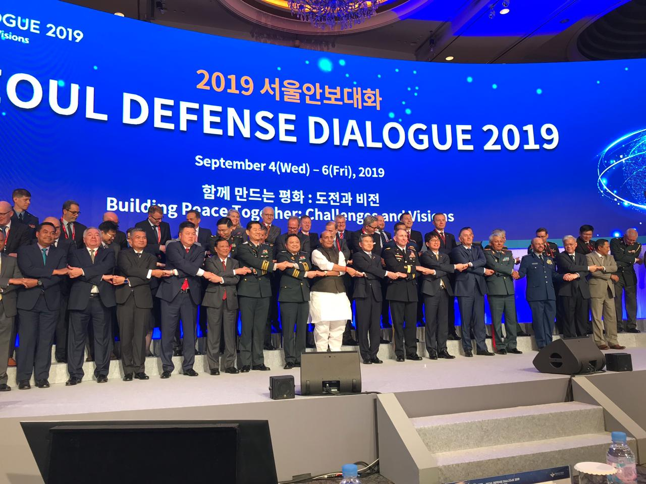 Raksha Mantri's Keynote Address at Seoul Defence Dialogue - 'Building Peace Together: Challenges & Vision'