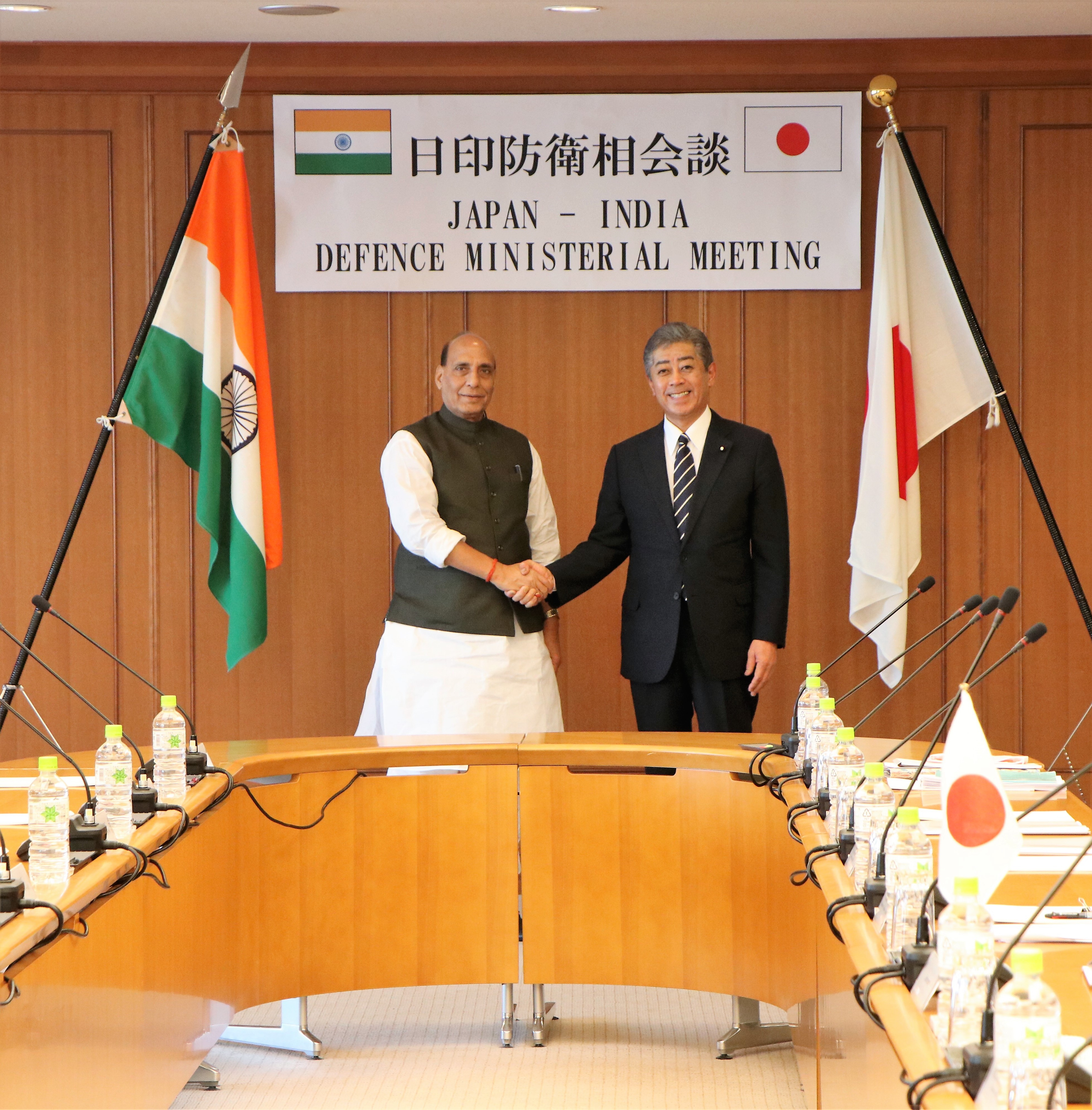 Rajnath Apprises Japanese Counterpart on Kashmir