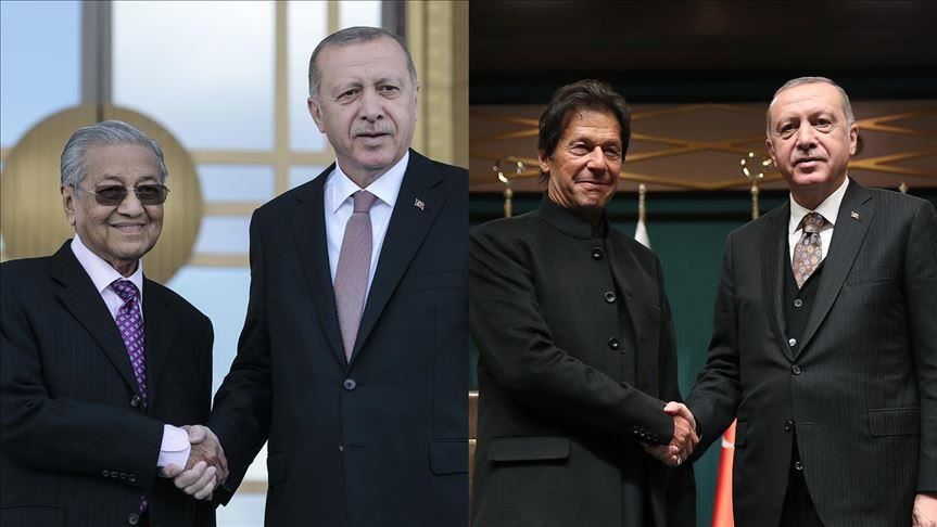 Turkey, Pakistan, Malaysia Unite to Fight Islamophobia