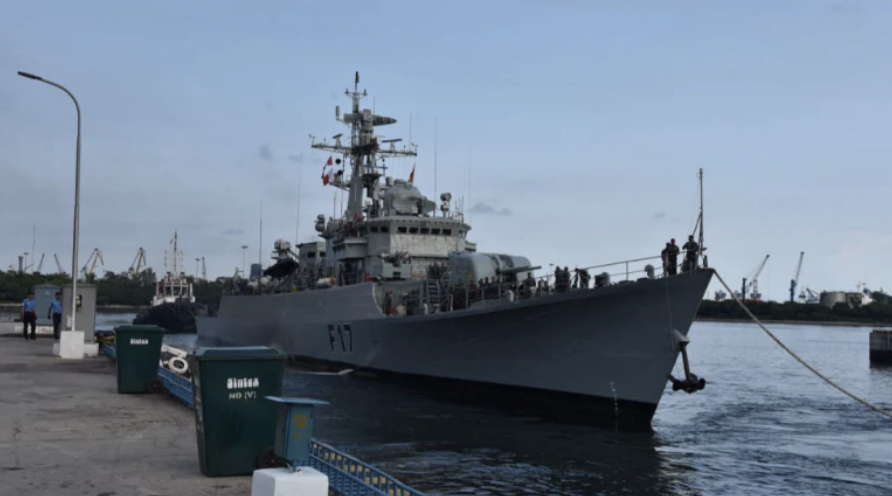 2 Bangladesh Navy Ships Reach India for Maiden Bilateral Exercise in Vishakhapatnam