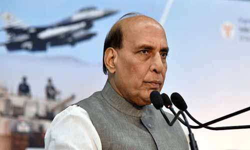 Rajnath Reaffirms of Achieving USD 26 Billion Indian Defence Industry by 2025