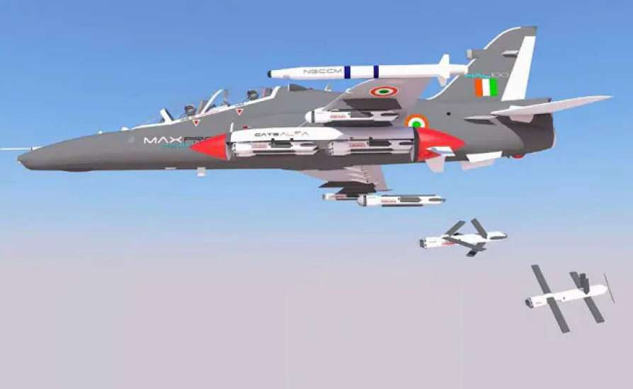 Startup Development of killer Swarm Drones for the Indian Air Force