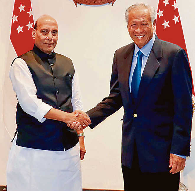 India to open test range for Singapore
