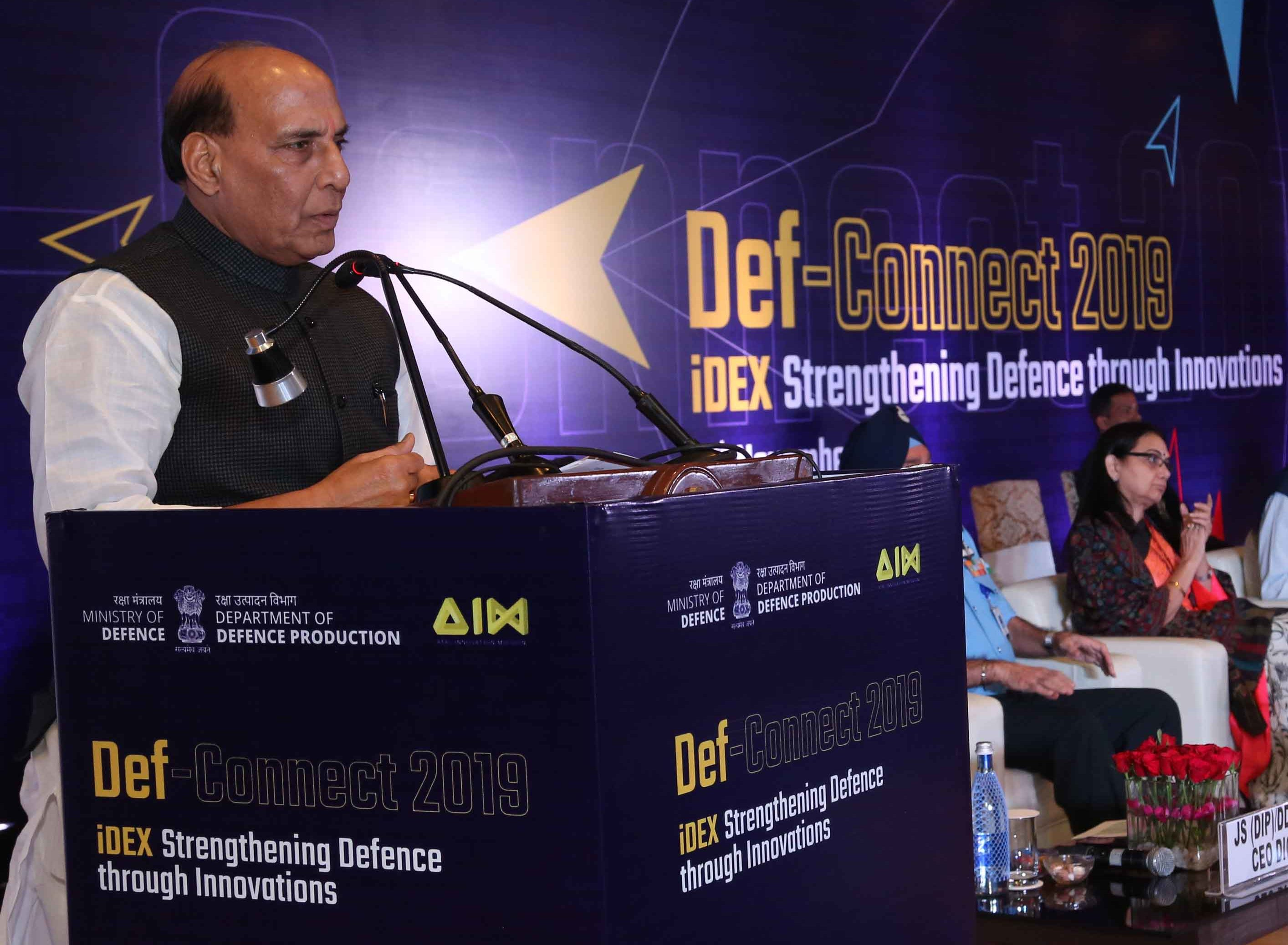 Innovation is key to self-reliance in defence sector: Rajnath Singh