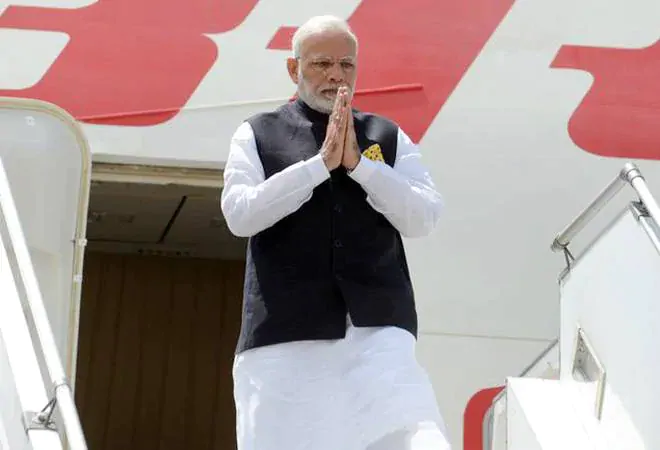 PM Modi Arrives in Bangkok; to Attend ASEAN, RCEP Summit