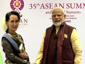 India Attaches Importance to Myanmar's Cooperation Against Insurgent Groups: PM Modi to Suu Kyi