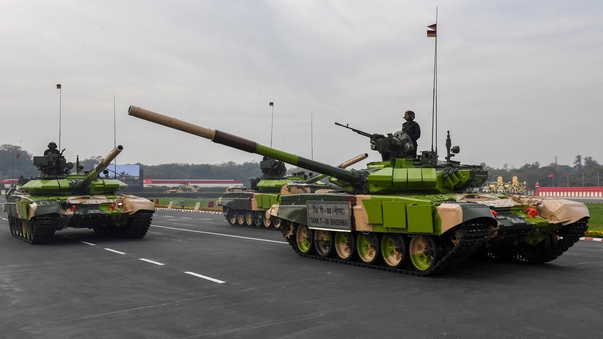India Pays Russia $1.2 Billion in Technology Transfer Fees for T-90S Tanks