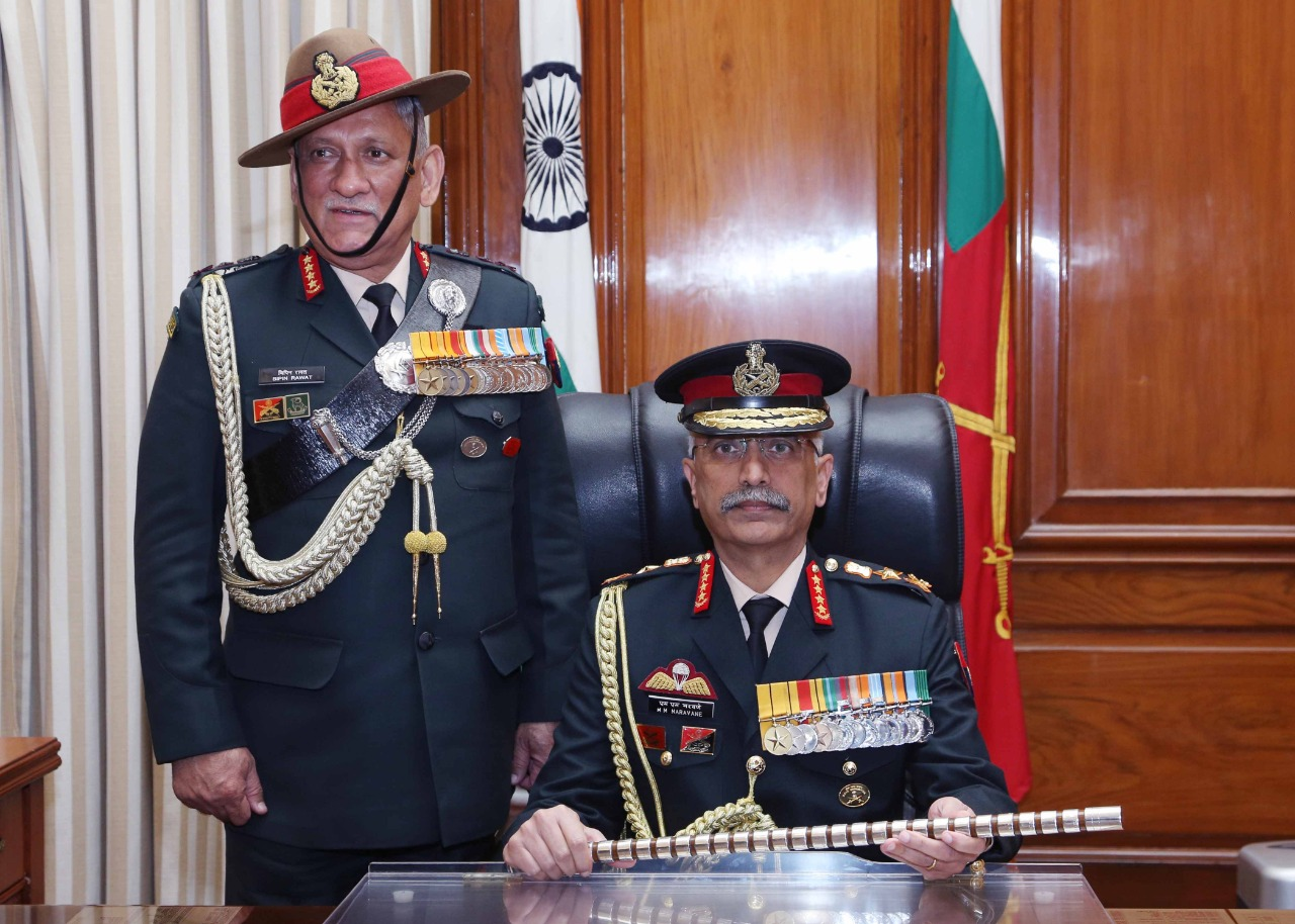 India Gets New Army Chief as Gen Naravane Takes Charge