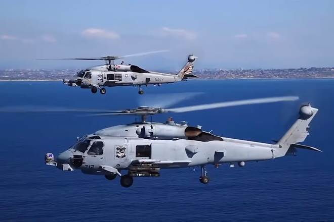 Indian Navy to Get Deadly MH-60R Anti-Submarine Helicopters Soon! Deal Expected to be Finalised on Wednesday
