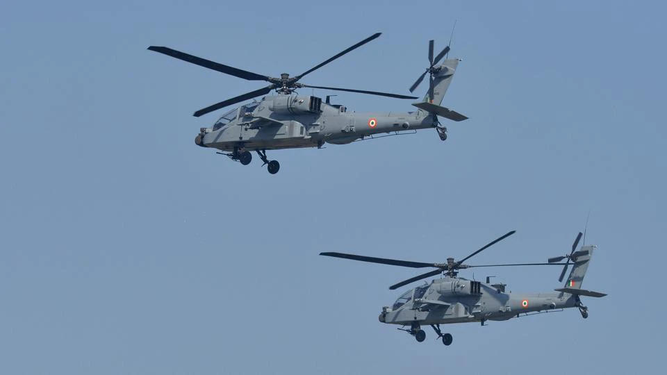 India Set to Sign $930-mn Deal for 6 Apache Attack Helicopters