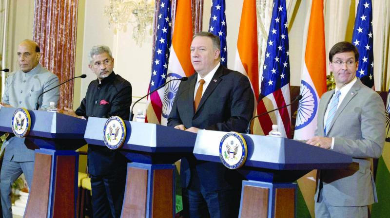 1st Sign of Upgrade for India in Ties with US