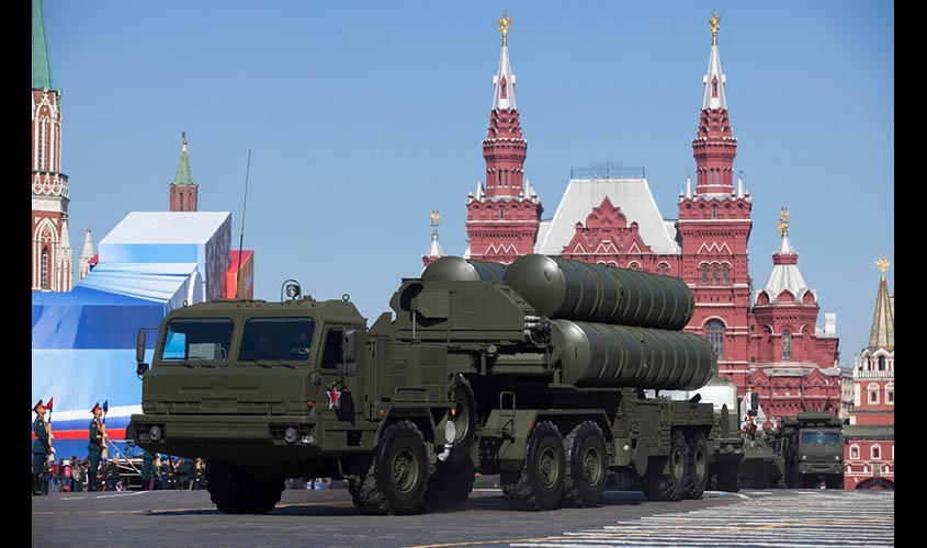 India's S-400 Deal Casts Shadow on Military Pact with US