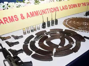 1,615 NDFB cadres lay down arms in Assam