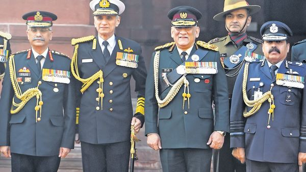 General Bipin Rawat Proposes Integrated Air Defence Command for Armed Forces